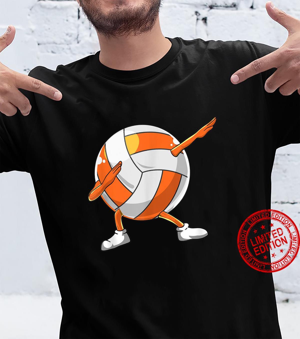 Dabbing Volleyball Sport Boys Shirt