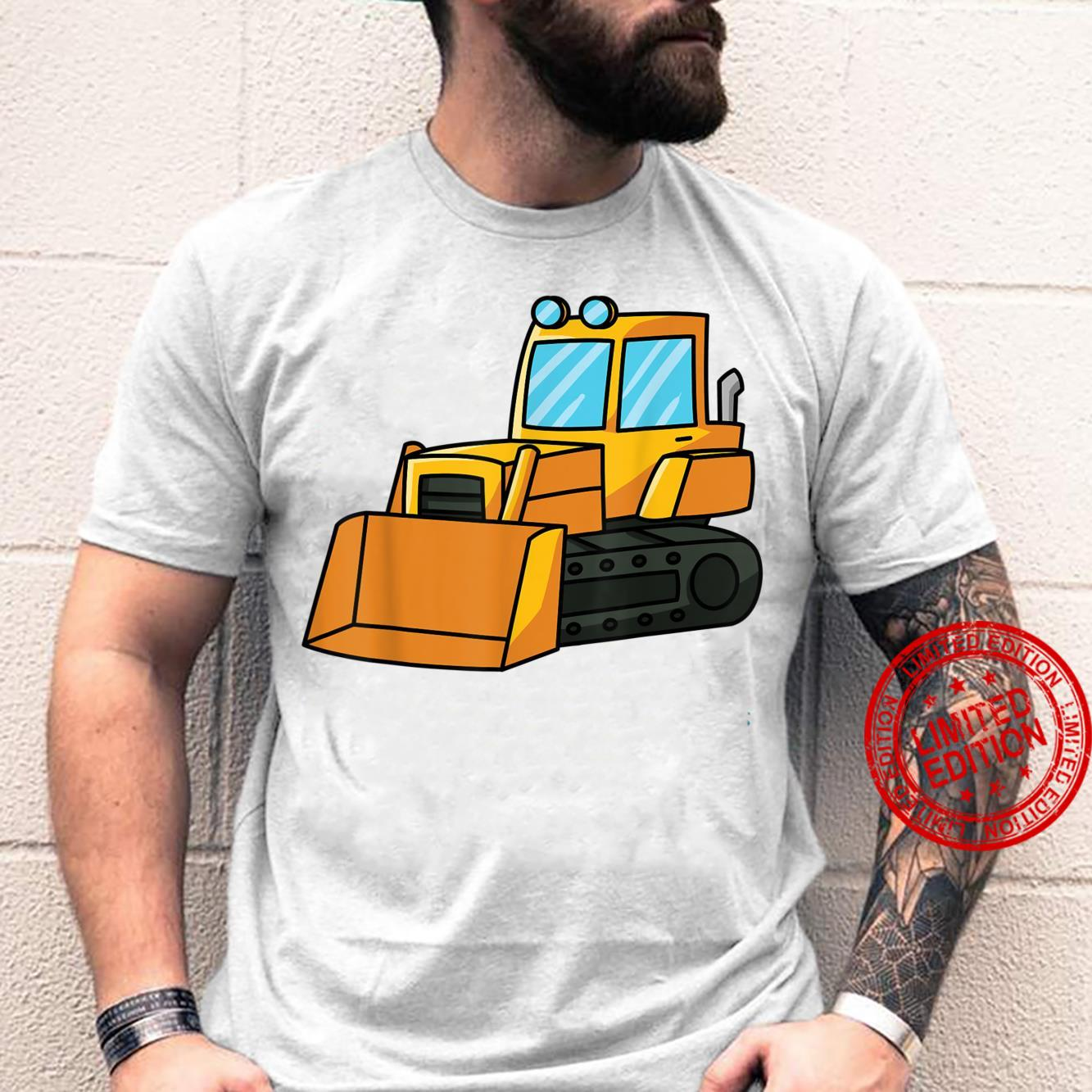 Digger excavator dredger construction site play toy Shirt