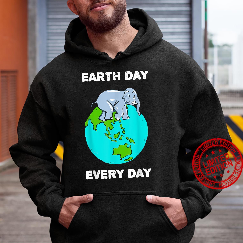 Elephant Everyday Save the Elephants Earth Day Shirt hoodie