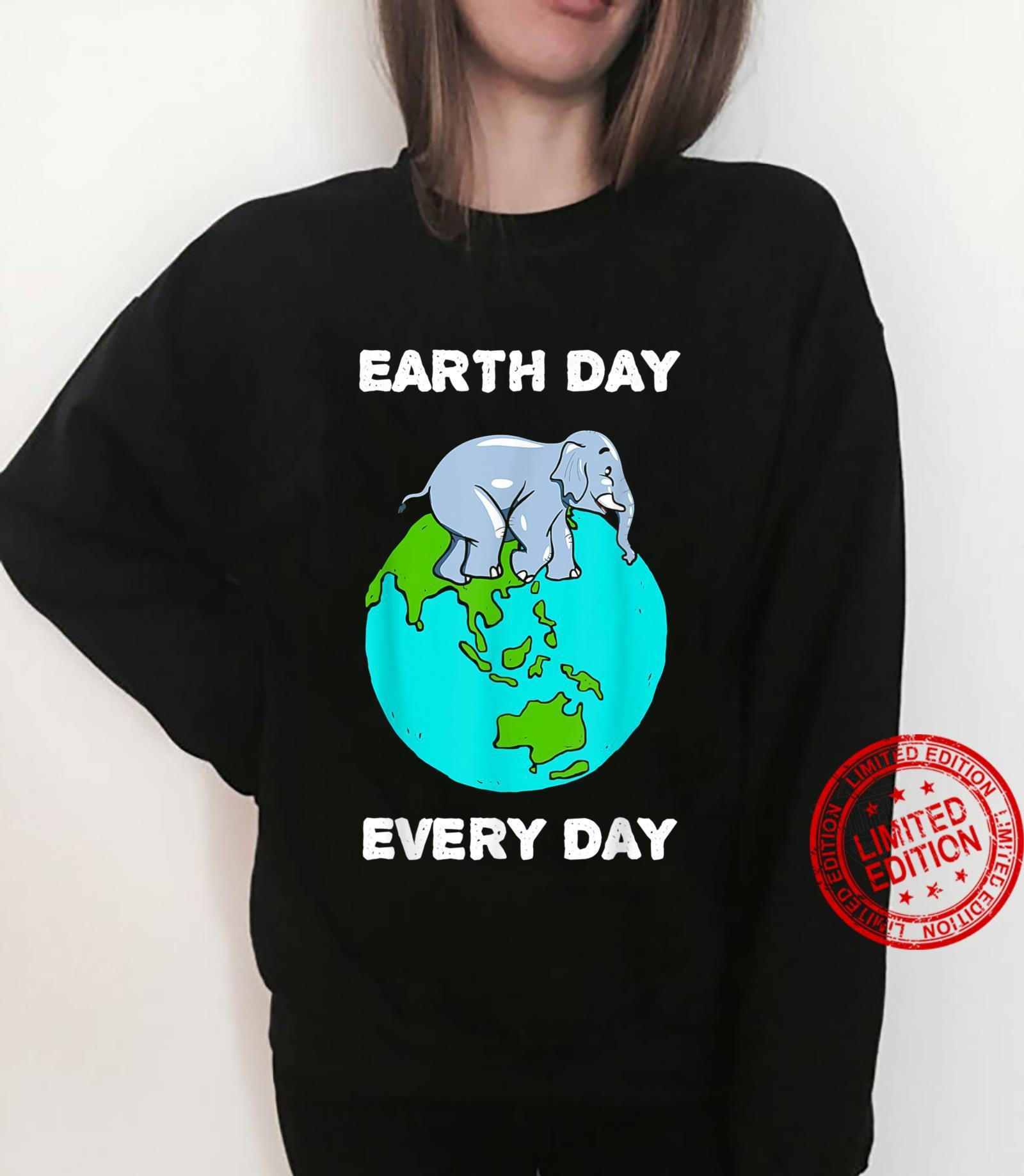 Elephant Everyday Save the Elephants Earth Day Shirt sweater