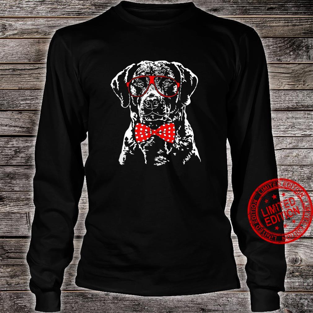 Funny Cute Chesapeake Bay Retriever mom dog Shirt long sleeved