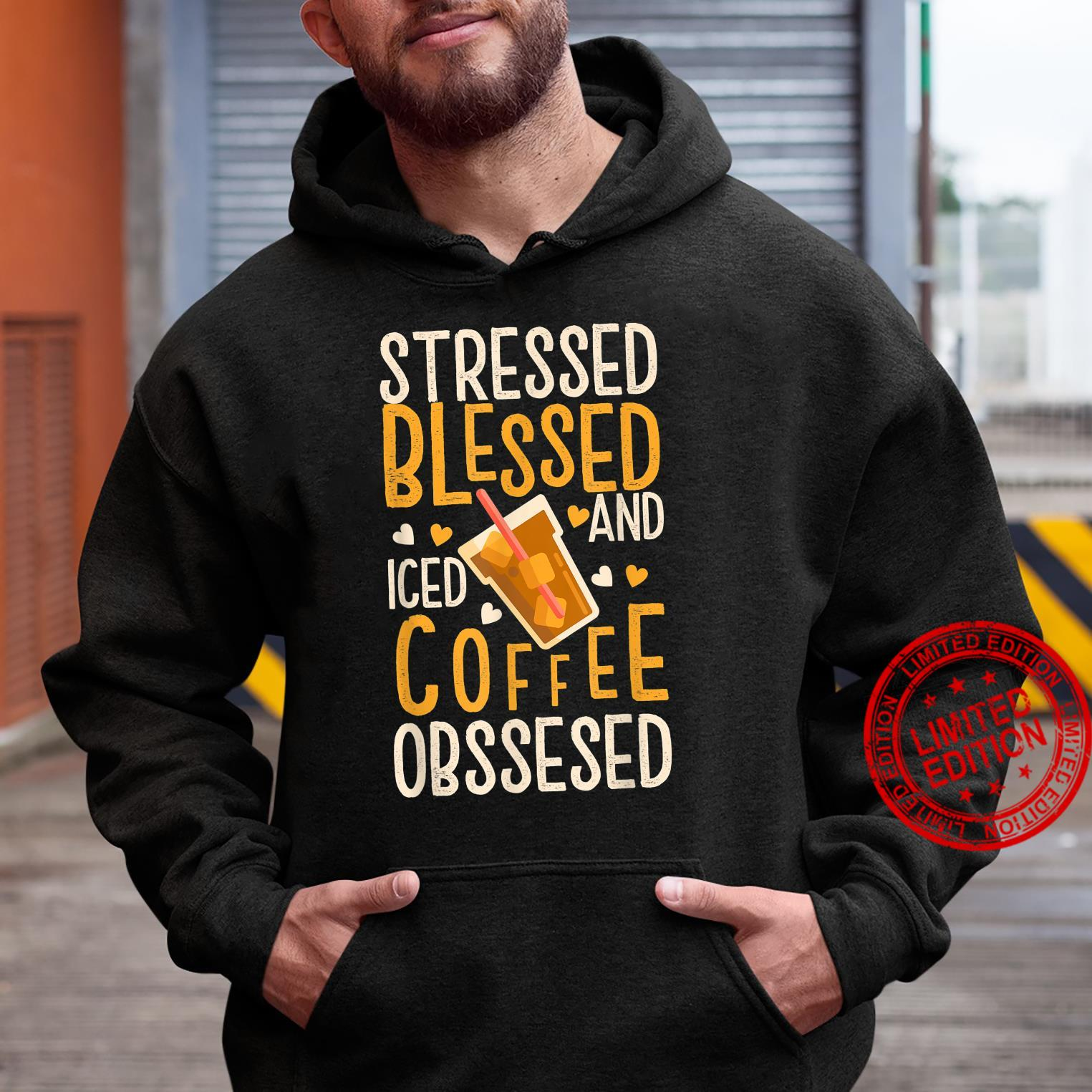 Funny Vintage Coffee Quotes for Iced Coffees Shirt hoodie