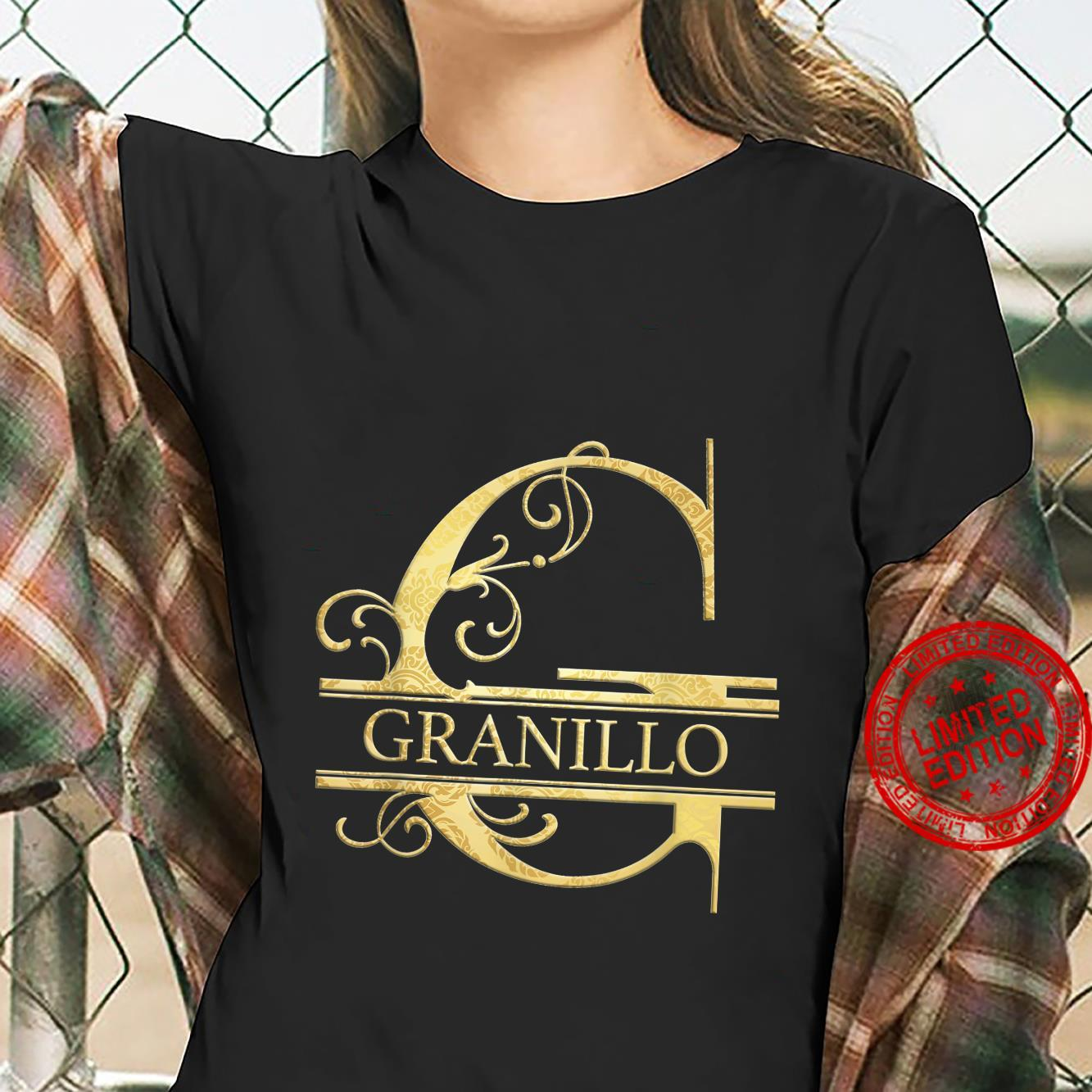 Granillo Name Shirt ladies tee