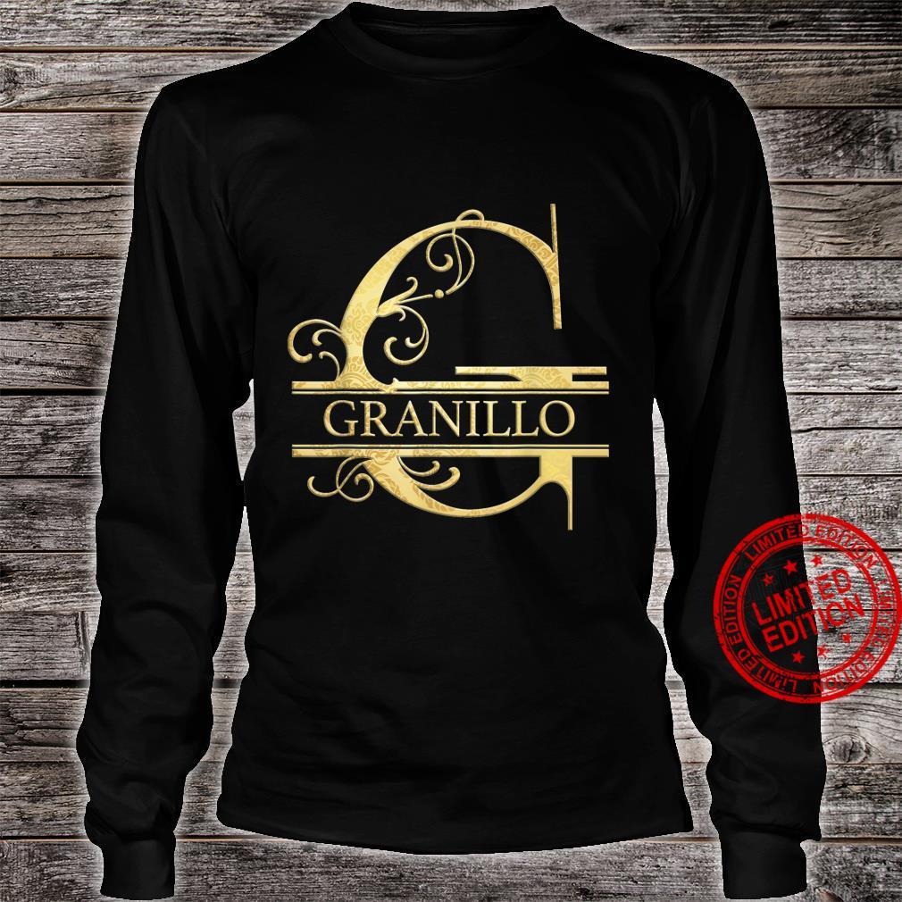 Granillo Name Shirt long sleeved