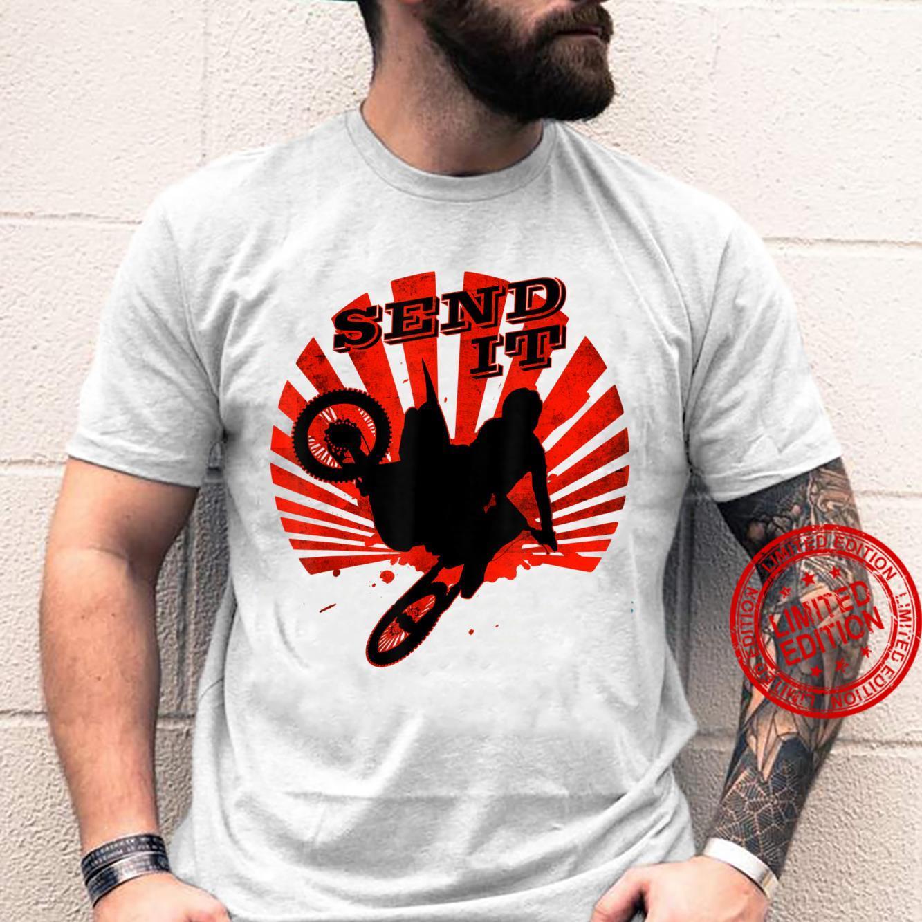 Just Send It Ride Dirt Bike Motorcycle Motocross Shirt