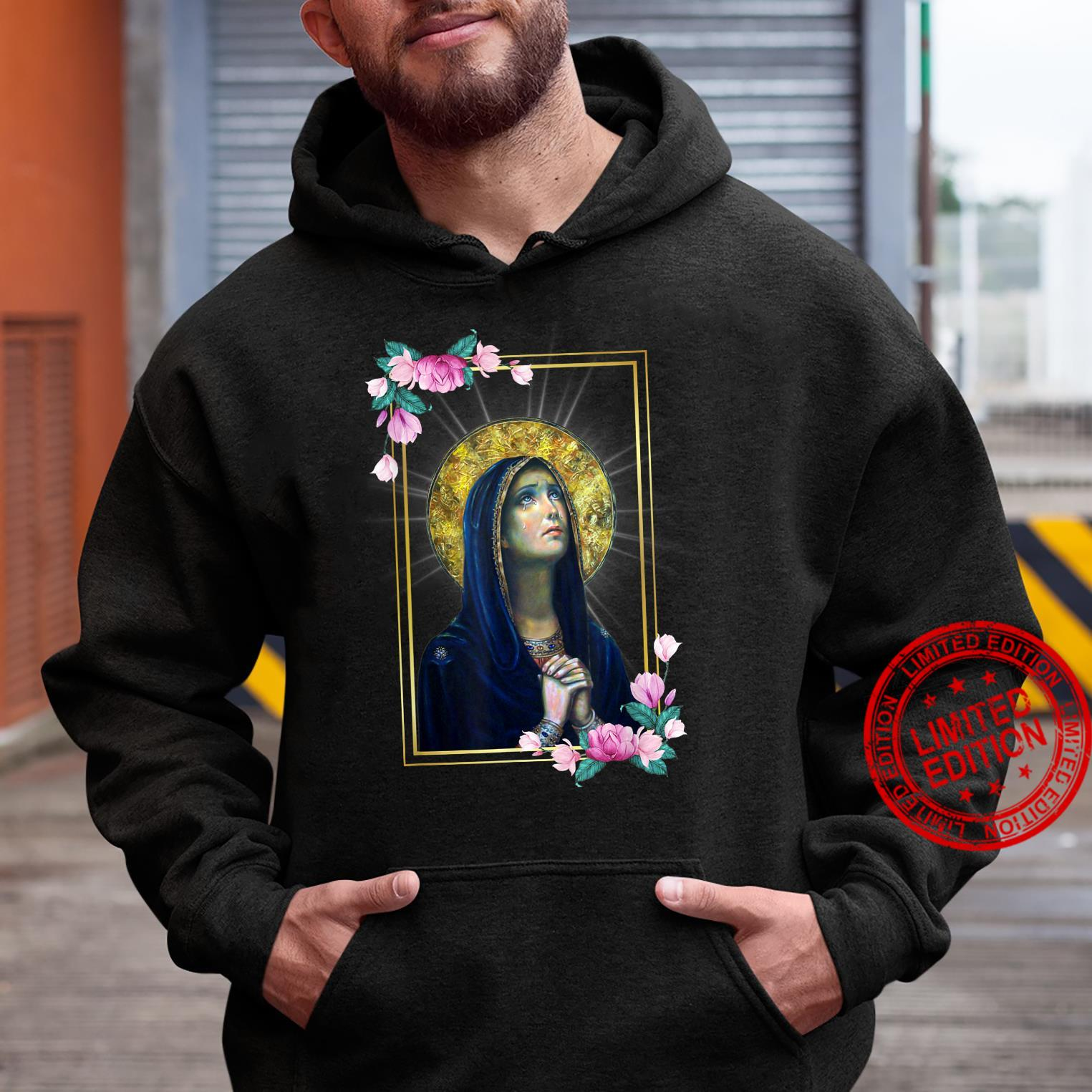 Our Lady of Sorrows Dolours Piety Mater Dolorosa Virgin Mary Shirt hoodie