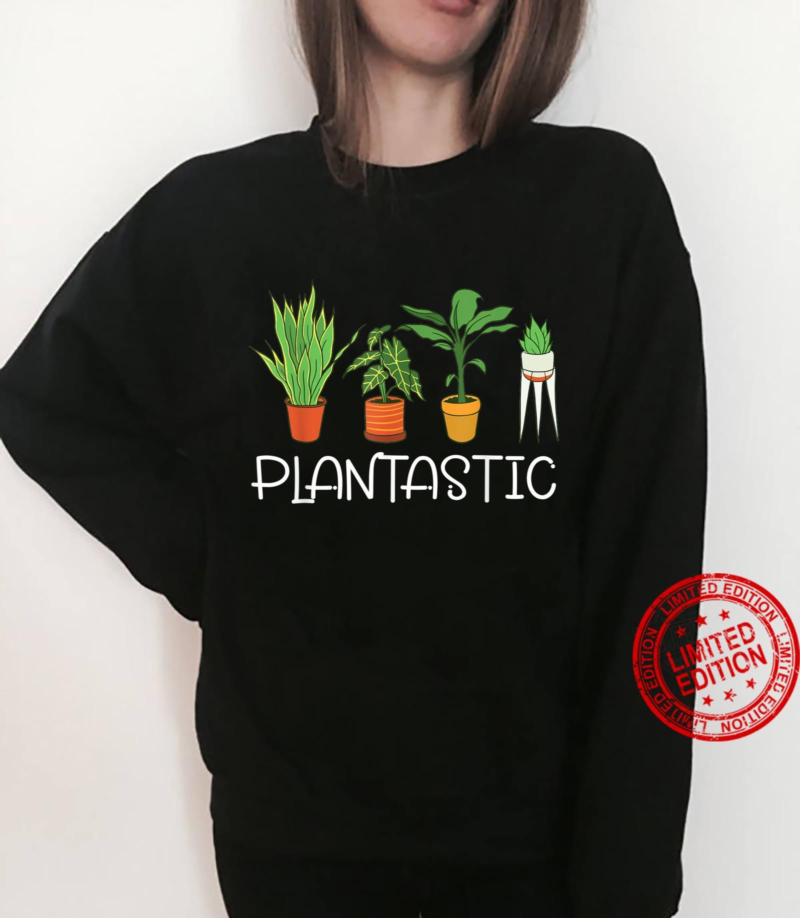 Plantastic Plants Planting Gardening Vegan Gardener Shirt sweater