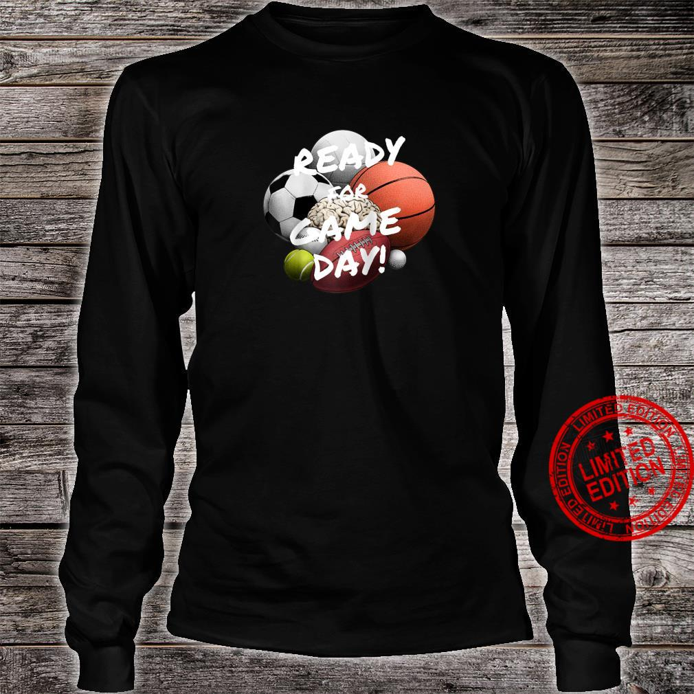Ready For Game Day's's Boy's Girls' Sports Shirt long sleeved