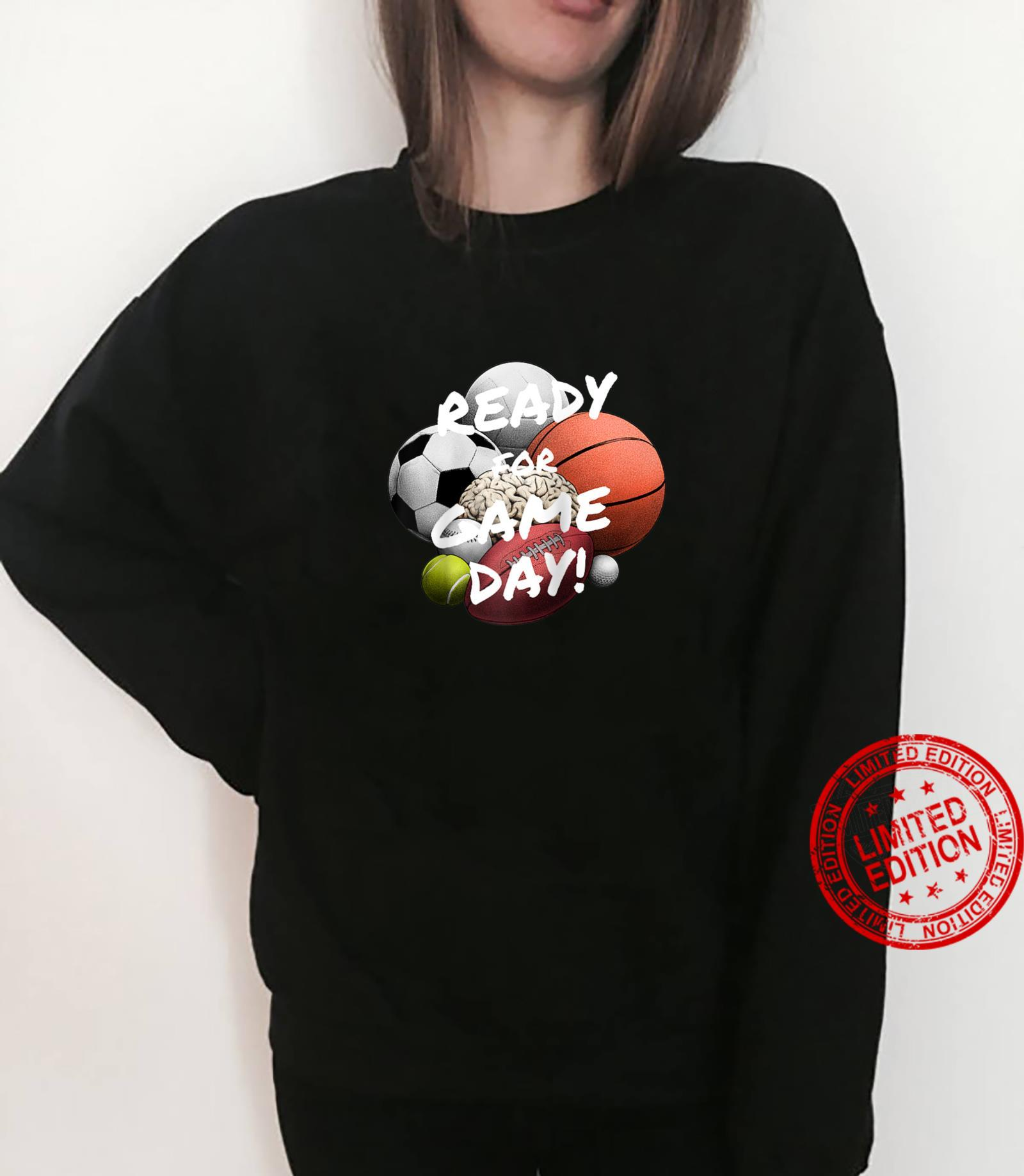 Ready For Game Day's's Boy's Girls' Sports Shirt sweater