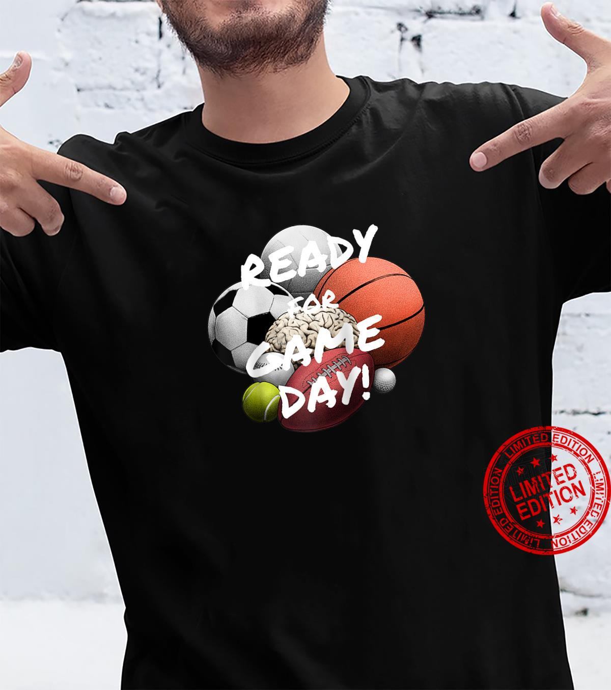 Ready For Game Day's's Boy's Girls' Sports Shirt