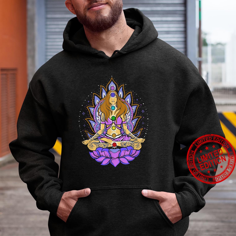 Seven 7 chakra lotus flower, meditation, peace Shirt hoodie