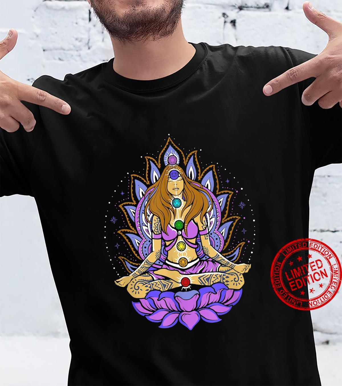 Seven 7 chakra lotus flower, meditation, peace Shirt