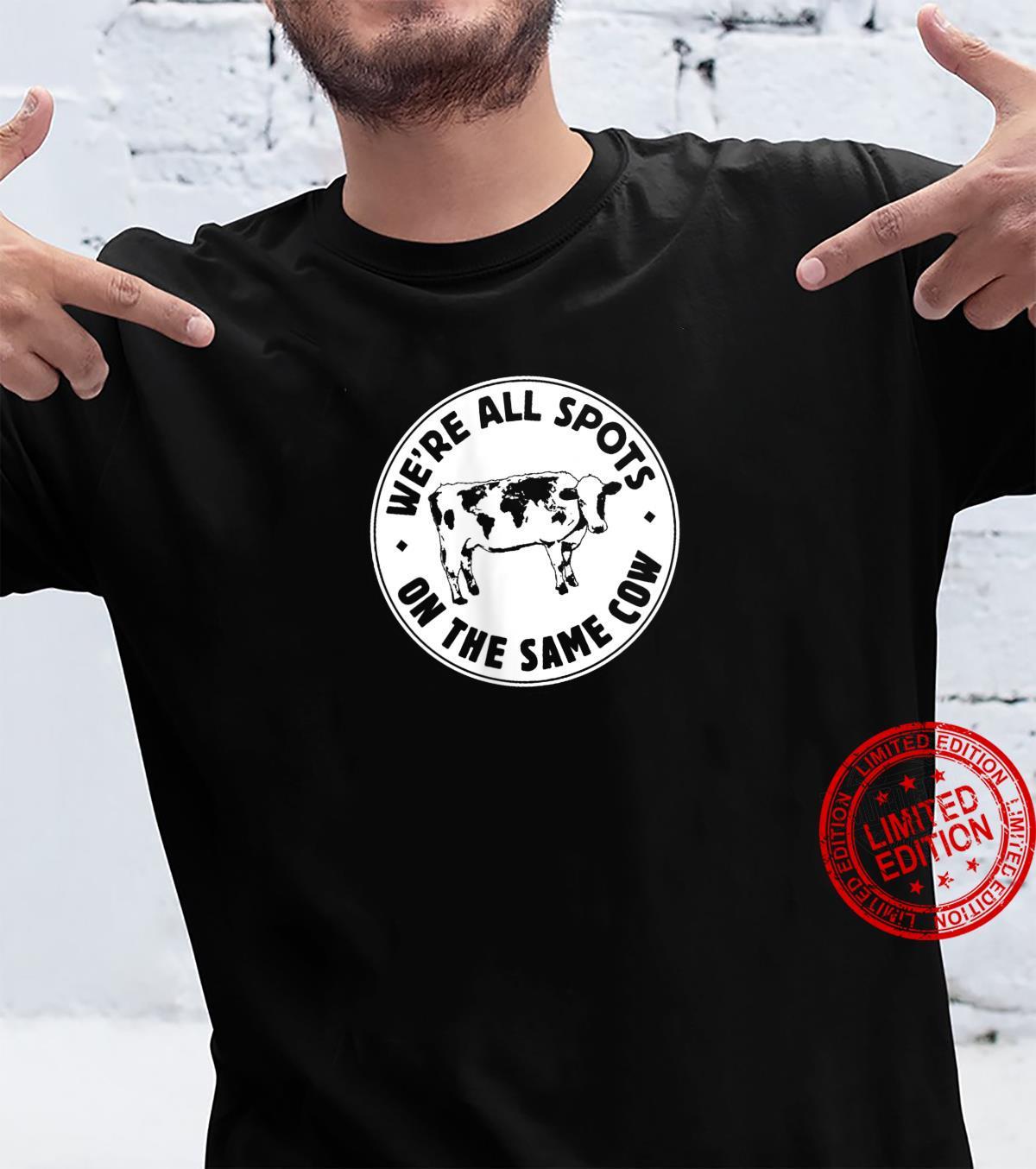 Womens World Cow Shirt