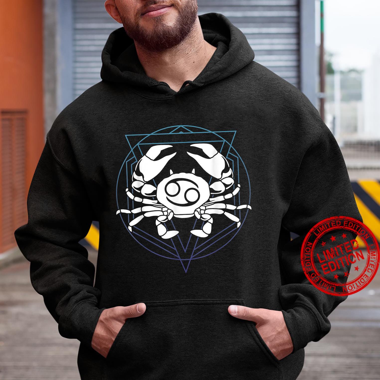Zodiac Sign Horoscope Cancer Symbol Shirt hoodie