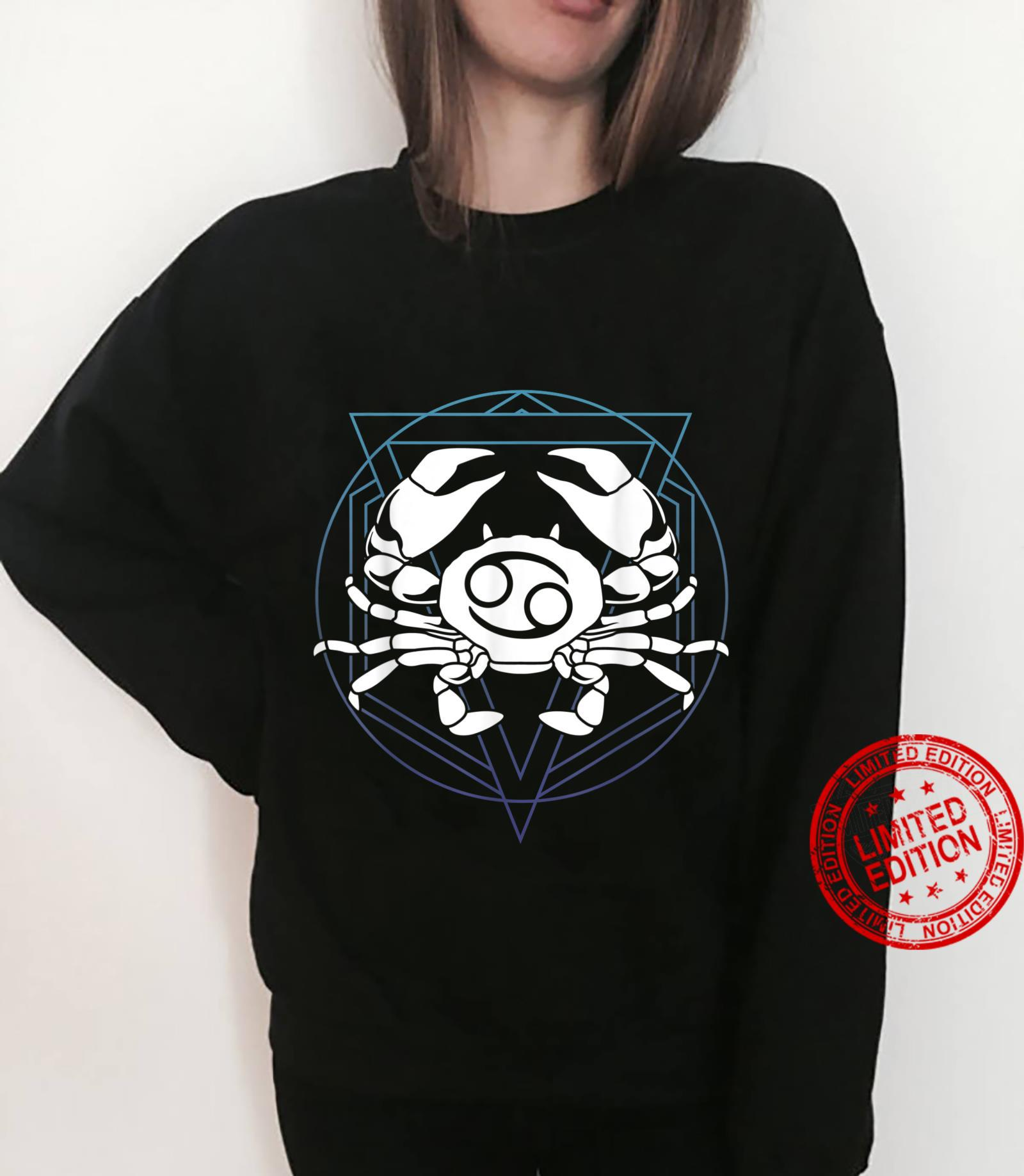 Zodiac Sign Horoscope Cancer Symbol Shirt sweater
