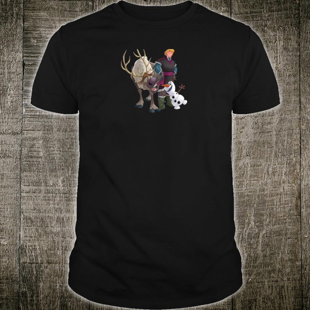 Disney Frozen Kristoff Olaf Sven Boys' Shirt