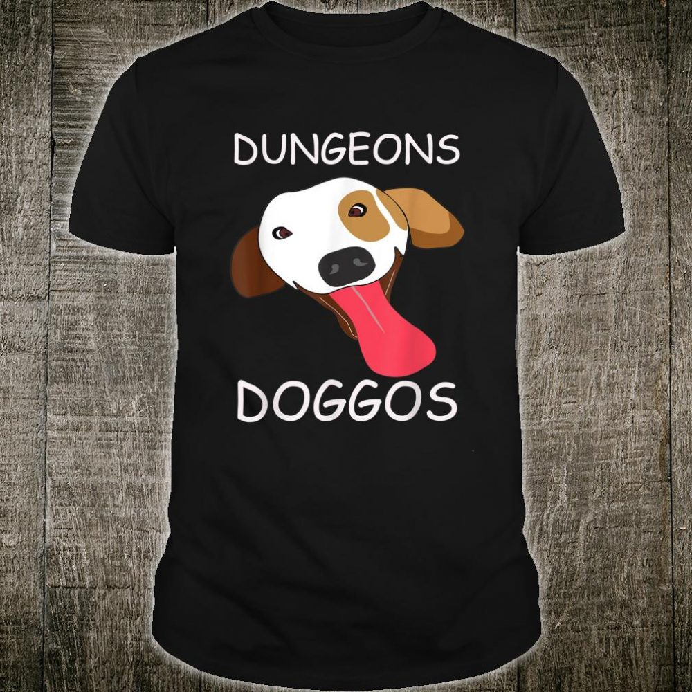 Dungeons and Doggos for Dog Shirt