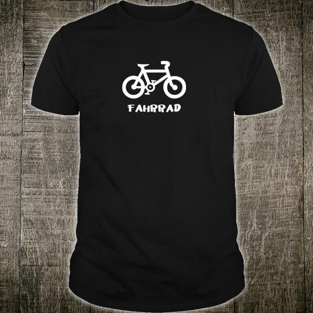 Fahrrad Bicycle Shirt