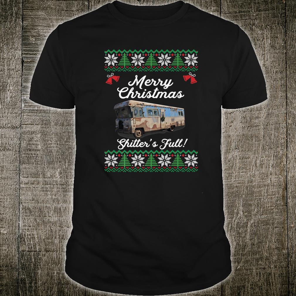 Full Ugly Christmas Vacation Cousin Eddie Shitters Shirt