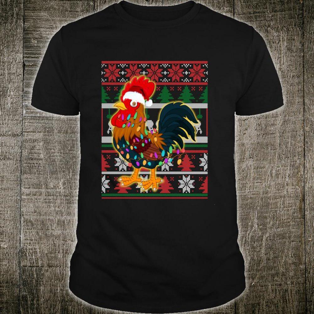 Funny Chicken Ugly Christmas Shirt