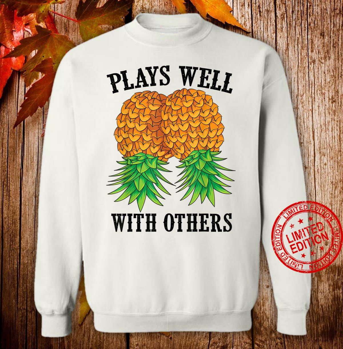 Funny Plays Well With Others Swinger And Shirt sweater