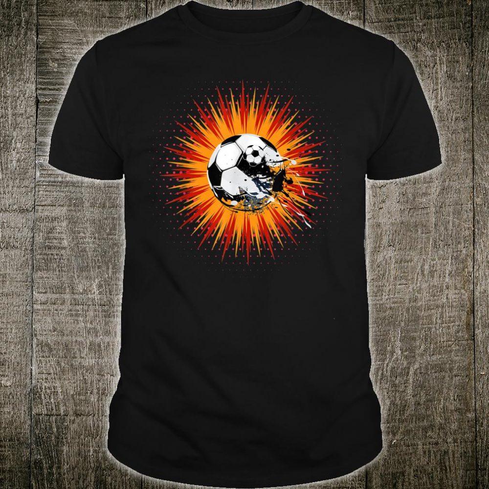 Funny Soccer Sport Journalist Shirt