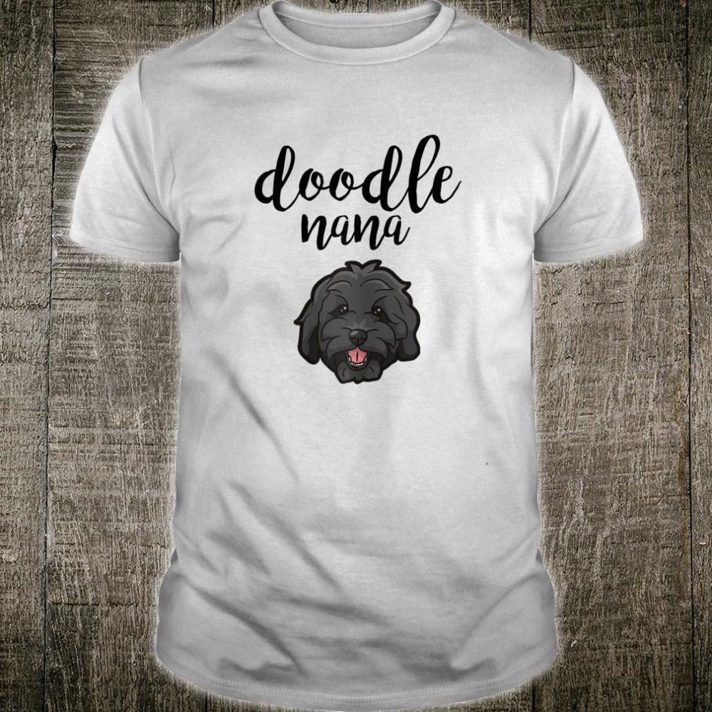 Goldendoodle Nana Doodle Mom Cute Goldendoodle Shirt