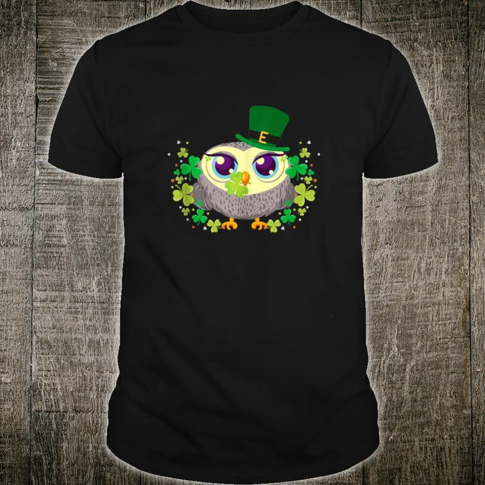 Leprechaun Owl Shamrock For St.Patrick's Day Shirt