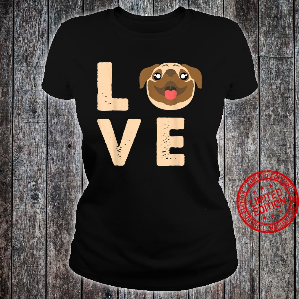 Love Heart Animal Bestfriend Pet Canine Owners Dog Shirt ladies tee