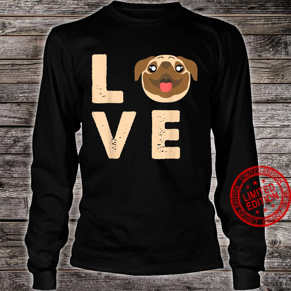 Love Heart Animal Bestfriend Pet Canine Owners Dog Shirt long sleeved