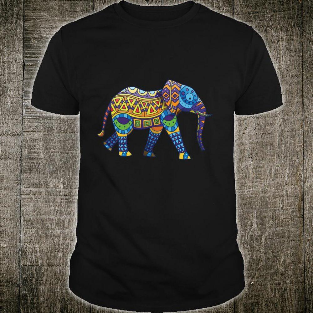 Mandala Ganesha African Elephant Shirt