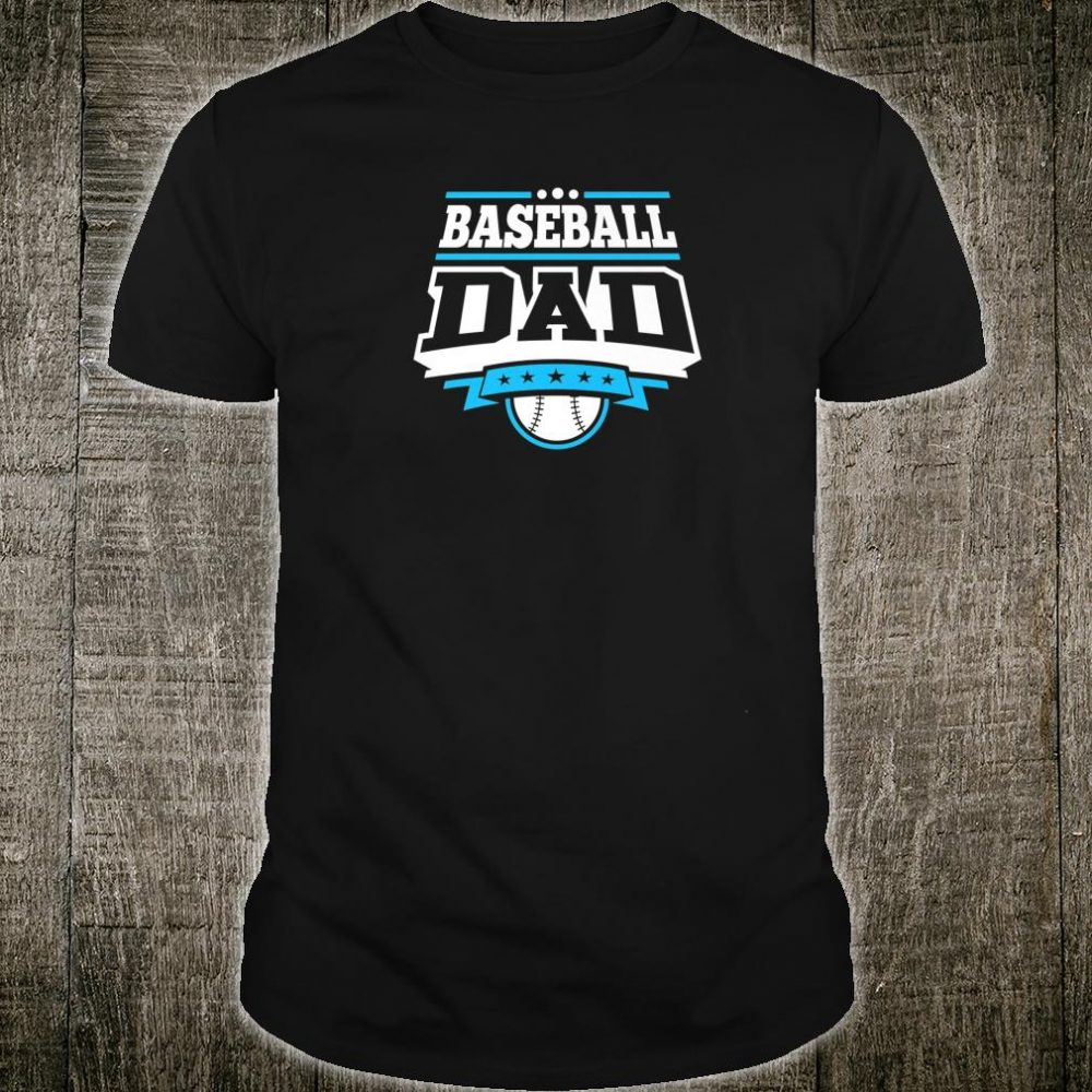 Mens Baseball Dad Shirt