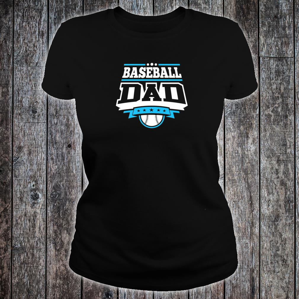 Mens Baseball Dad Shirt ladies tee
