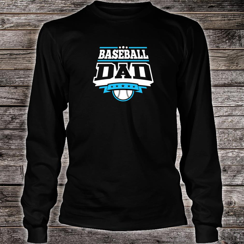 Mens Baseball Dad Shirt long sleeved