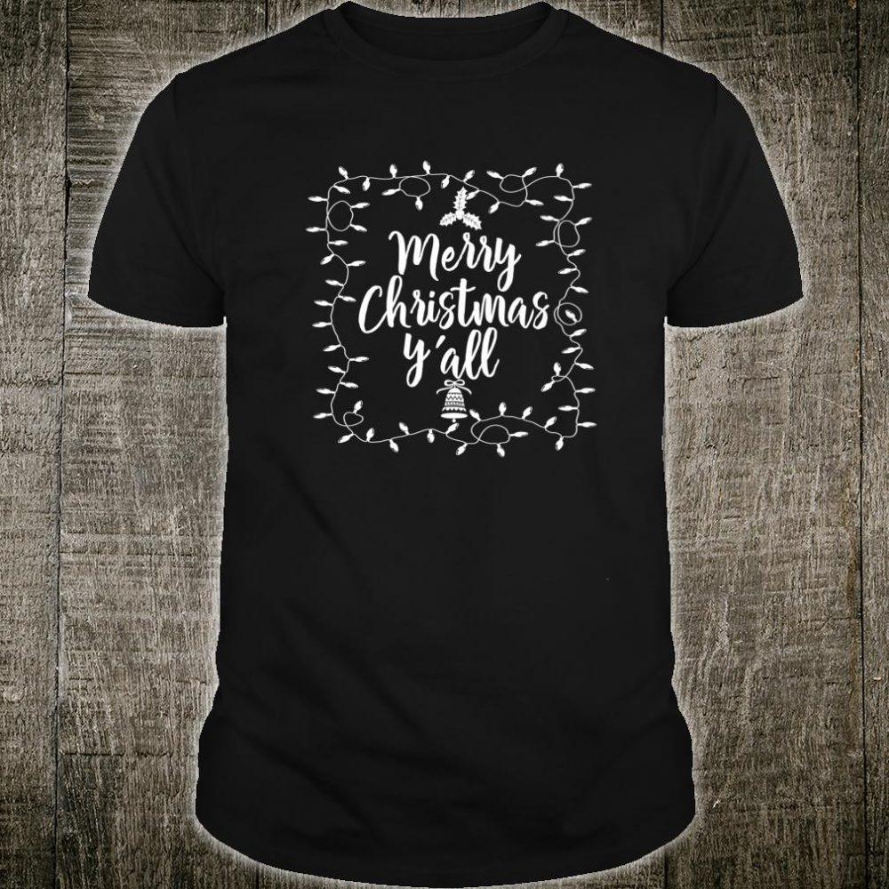 Merry Christmas Ya'll ADX021b Shirt