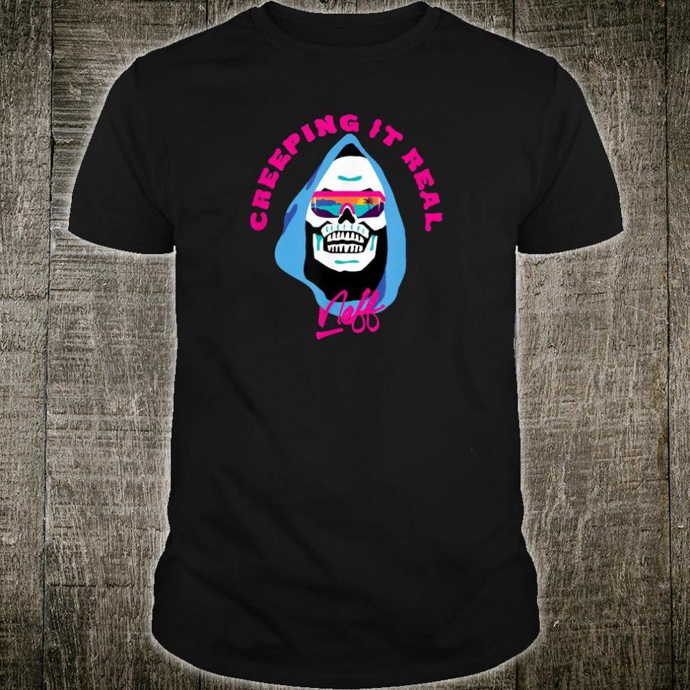 NEFF Skull Creeping It Real Shirt
