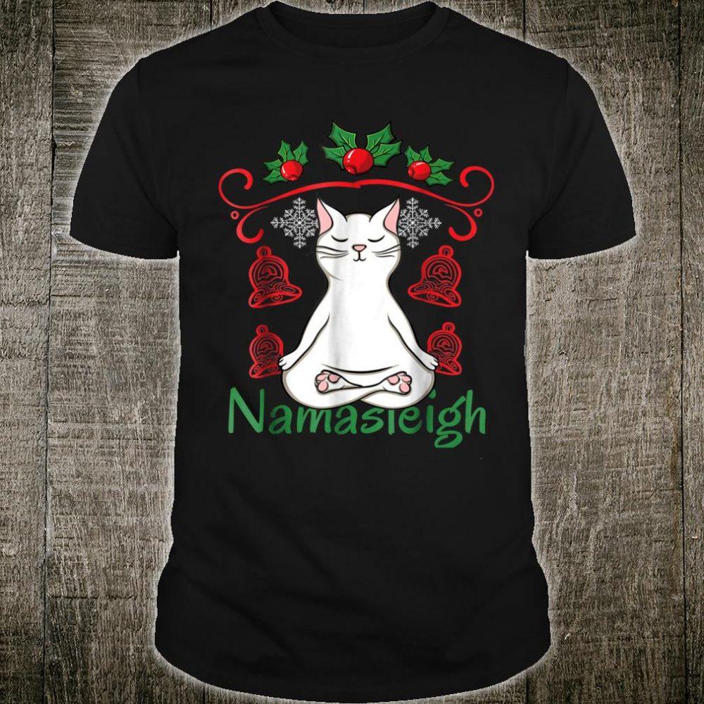 Namasleigh Christmas Shirt