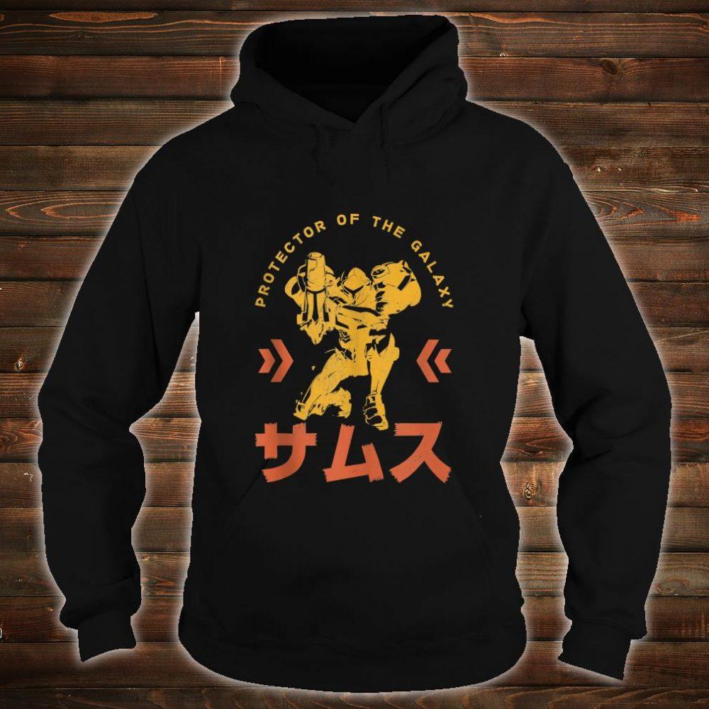 Nintendo Samus Protector Of The Galaxy Shirt hoodie