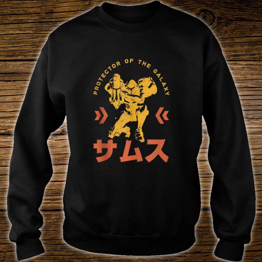 Nintendo Samus Protector Of The Galaxy Shirt sweater