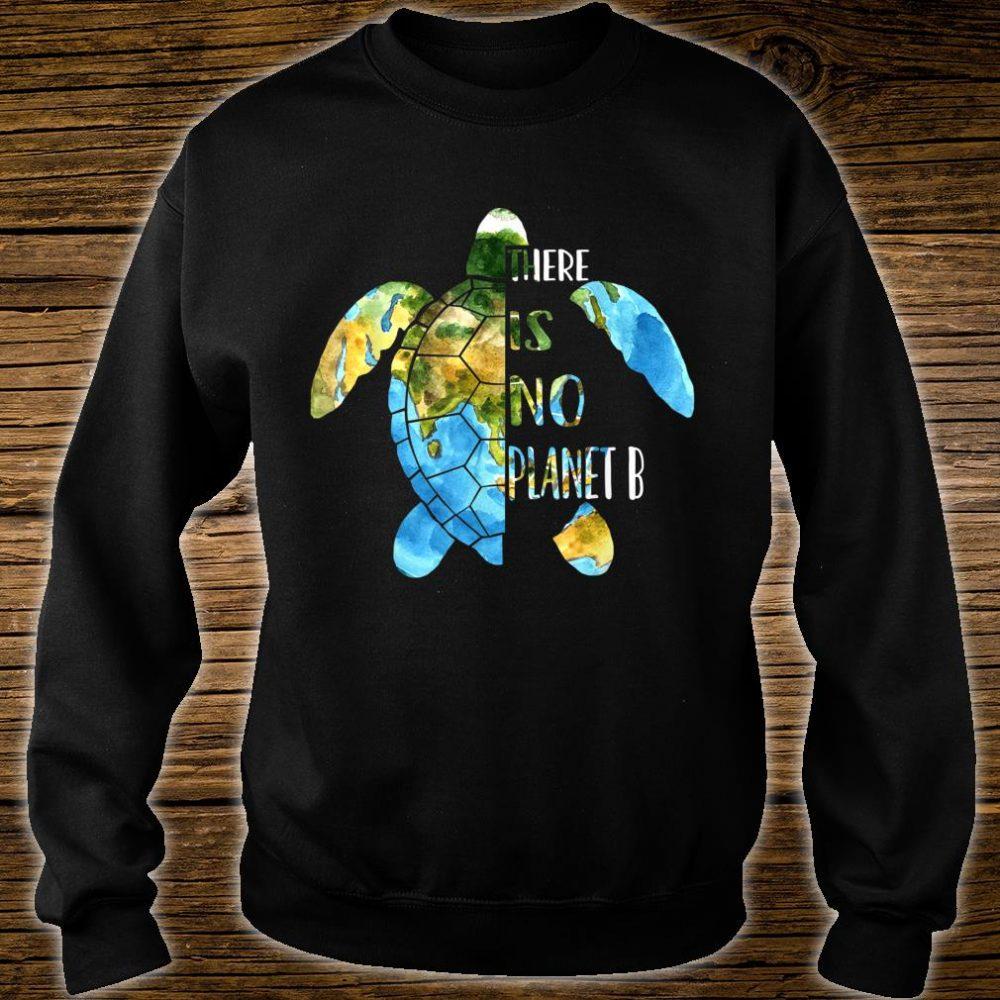 No Planet B Earth Day Sea Turtle Environmental Idea Shirt sweater