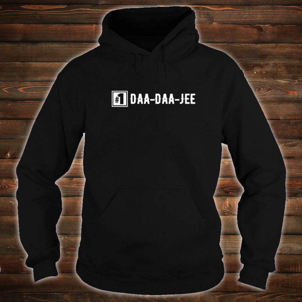 Number 1 DaaDaaJee Grandpa Shirt hoodie