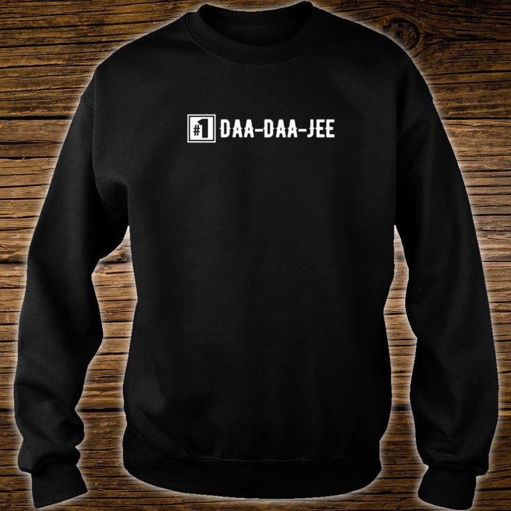 Number 1 DaaDaaJee Grandpa Shirt sweater