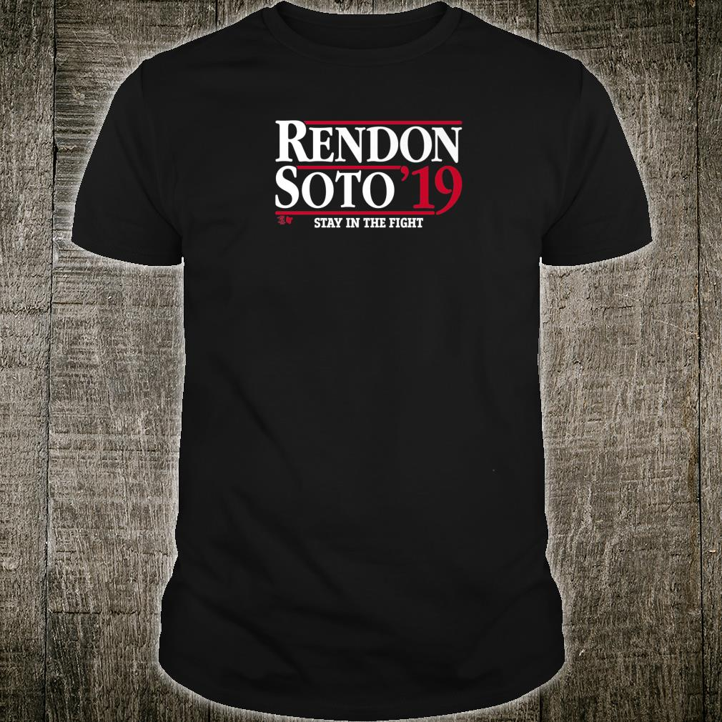Officially Licensed Rendon & Soto RendonSoto 2019 Shirt