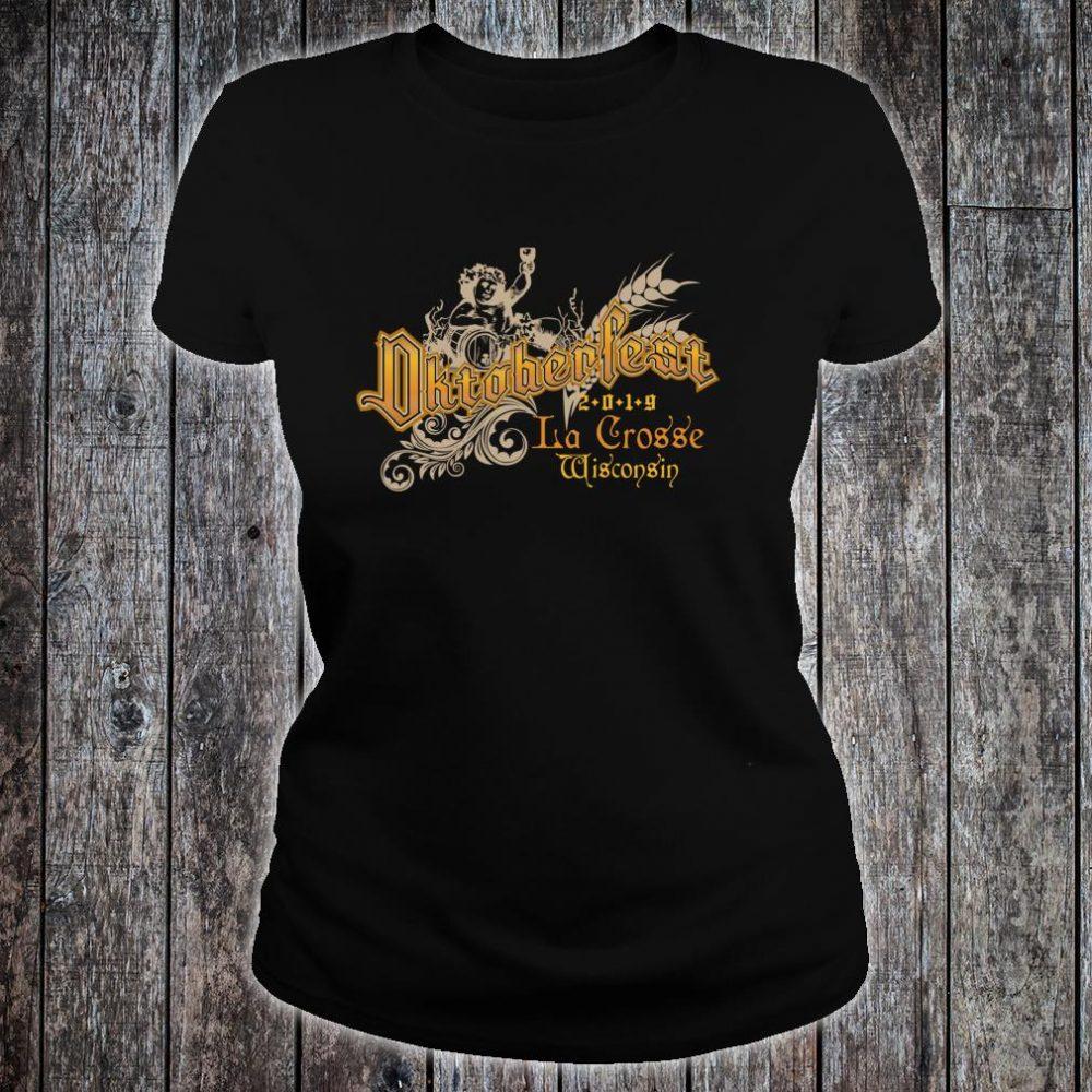 Oktoberfest La Crosse Wisconsin Beers Souvenir Shirt ladies tee