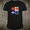 Patriotic American Louisiana Fleur Fourth of July Shirt