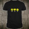 Peace Love Dink Pickleball Saying Shirt