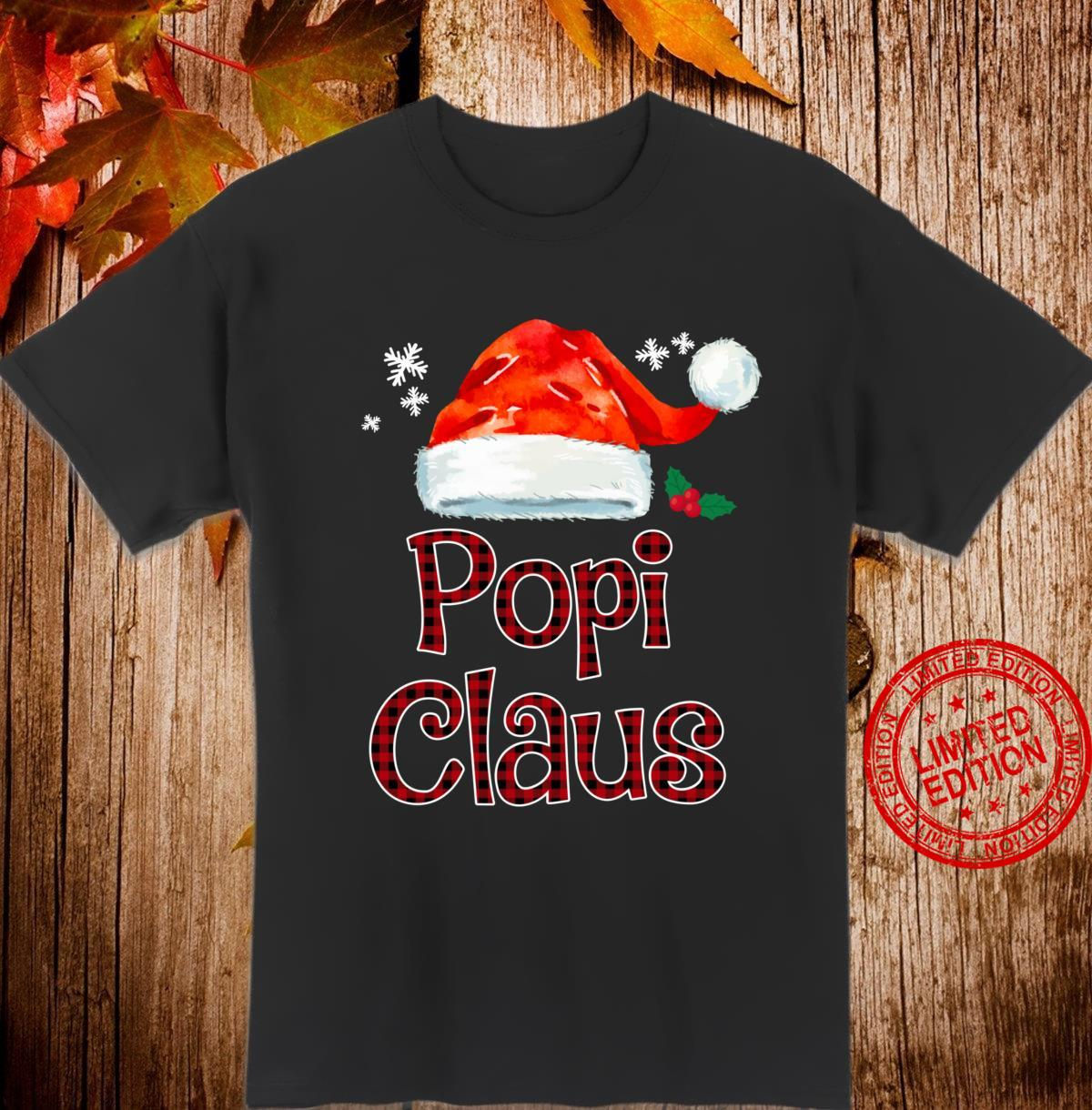 Popi Claus Christmas Pajama Family Matching Xmas Shirt