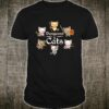 RPG Dungeons Game D20 Cute Cat Fantasy RolePlaying Game Shirt