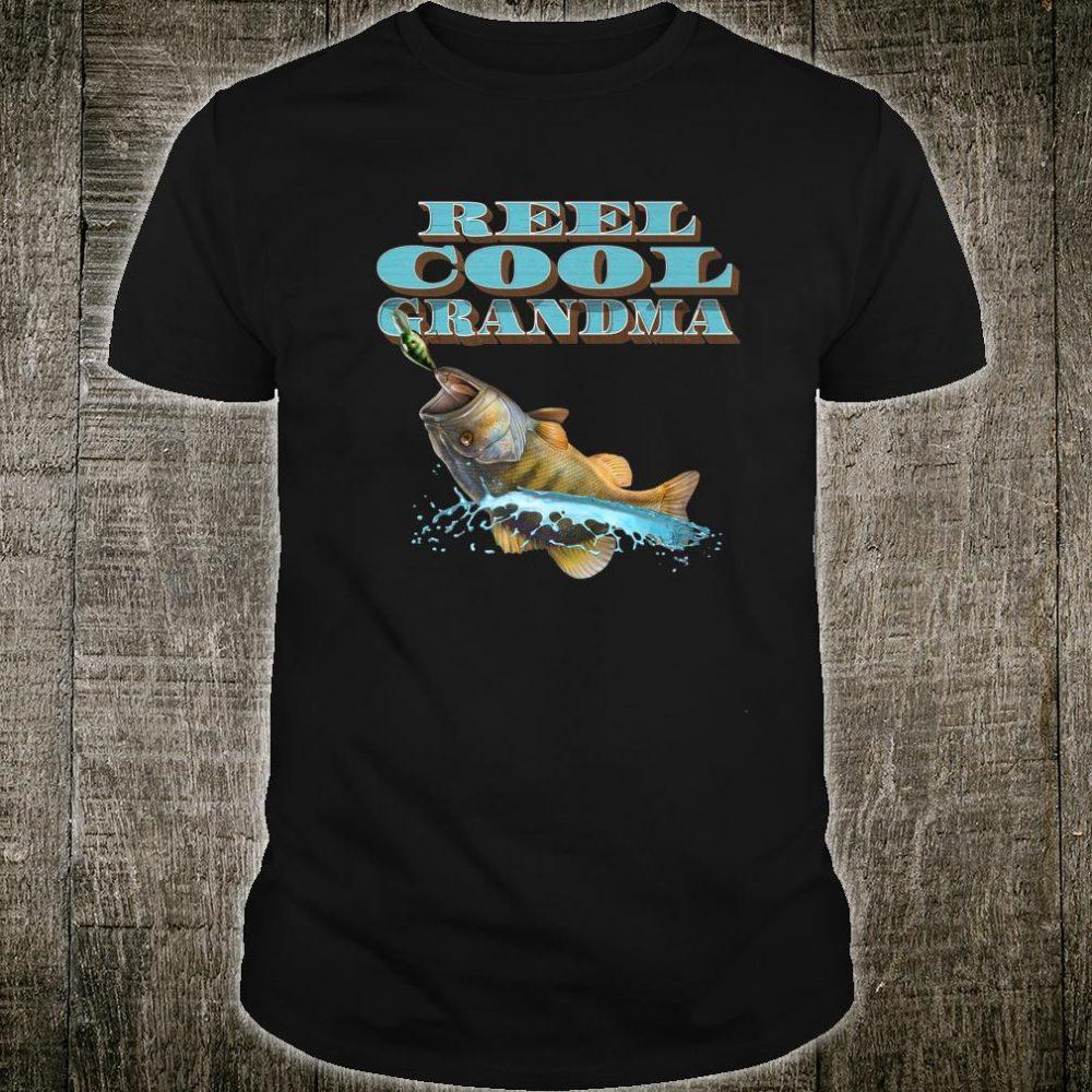 Reel Cool Grandma Fishing Shirt