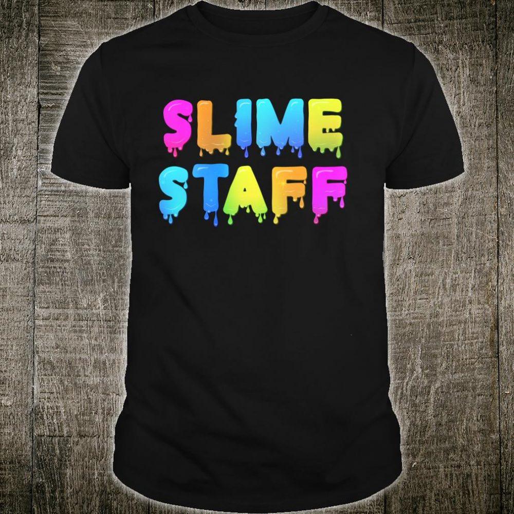 Slime Staff Shirt Slime Party Slime Birthday Shirt